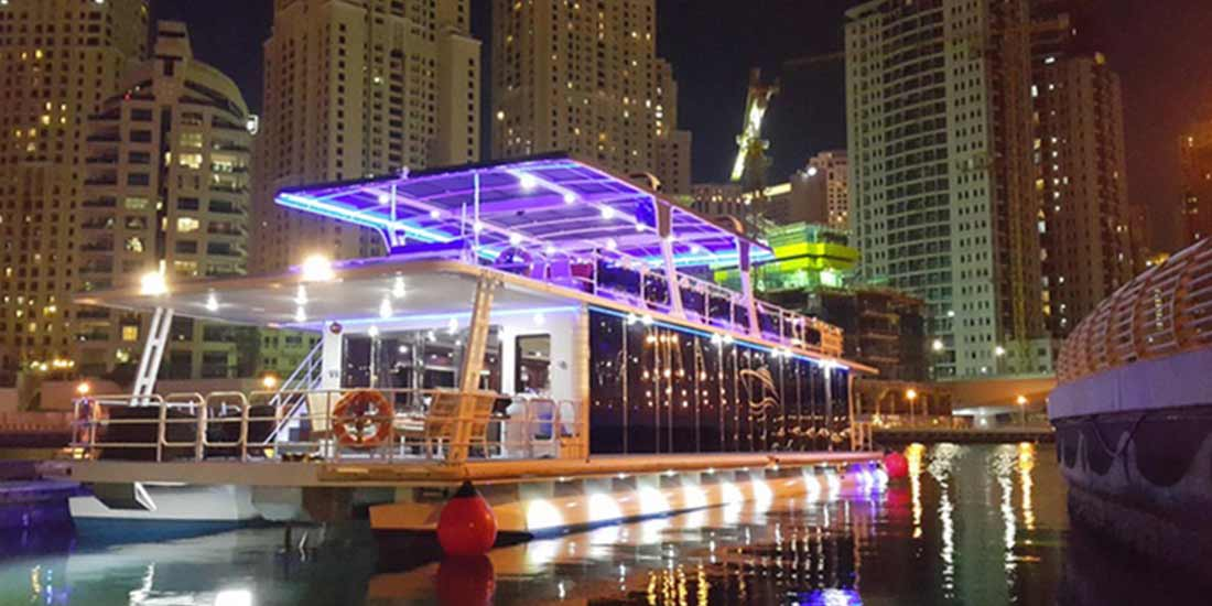 Marina Yacht Cruise with Dinner