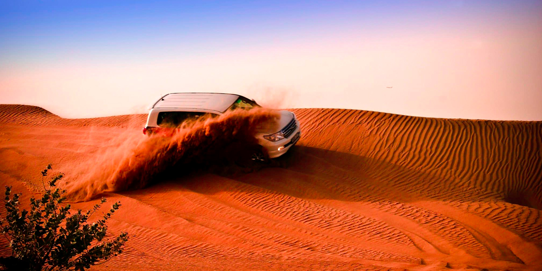 VIP Desert Safari with Dhow Cruise Package