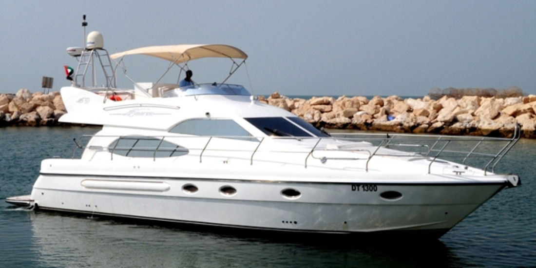 50Ft Luxury Yacht Charter